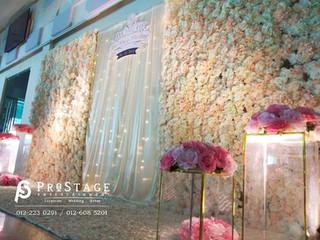 Flower Themed Photobooth + Walkway + Photo Album Corner + VIP Table