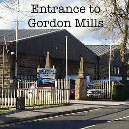Entrance to Gordon Mills