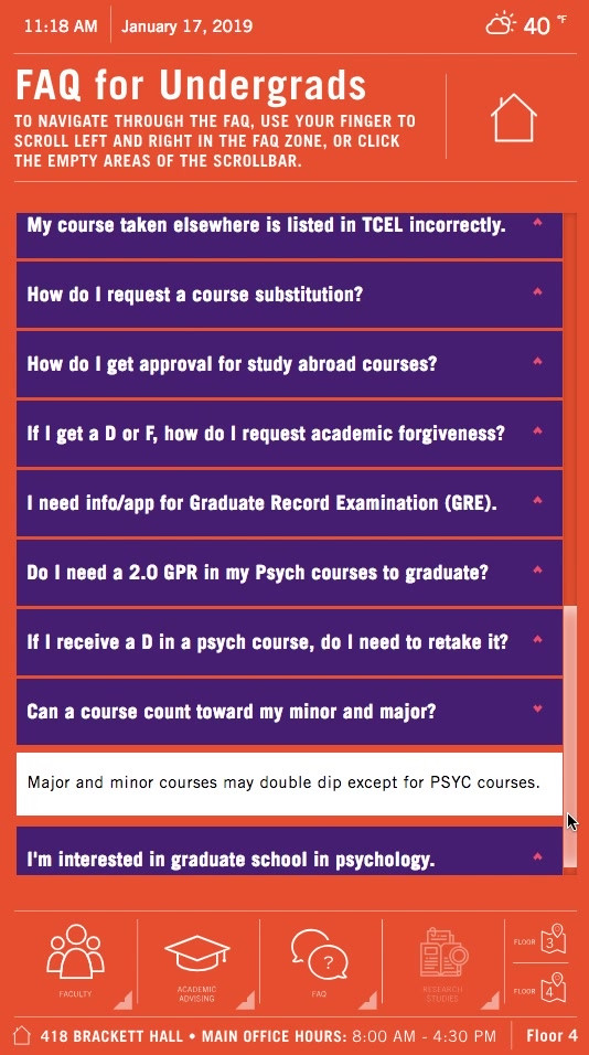 Clemson University: Psychology Dept