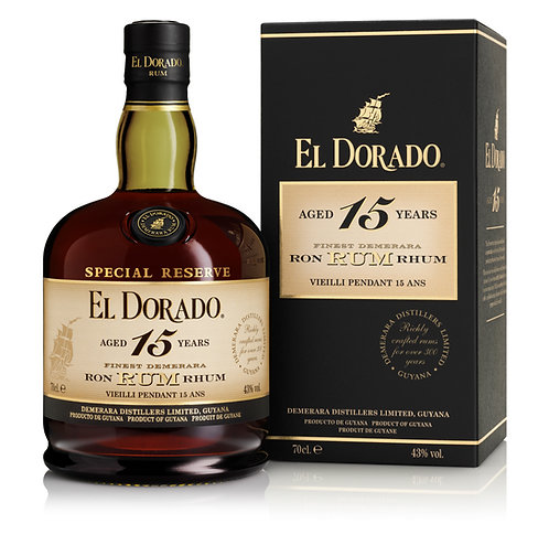 El Dorado 15 Year Old 700ml - 43%