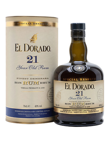 El Dorado 21 Year Old 700ml - 40%