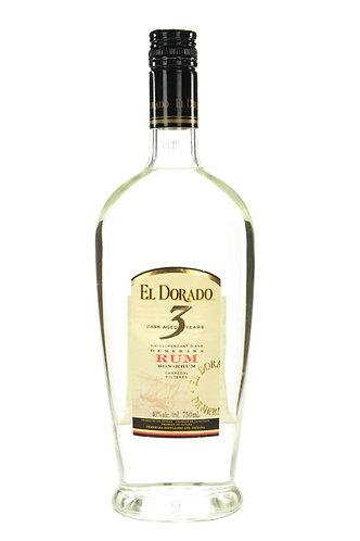 El Dorado 3 Year Old White Rum 700ml - 40%