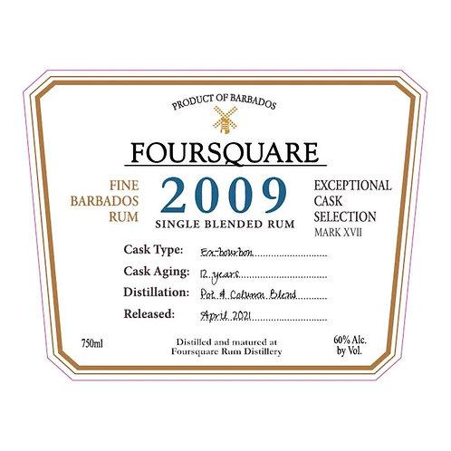 Foursquare 2009 - 700ml 60%