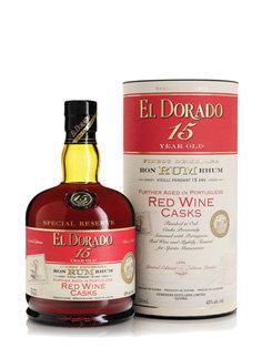 El Dorado 15yr Red Wine Cask Finish - 43% 750ml