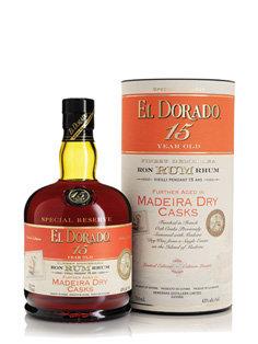 El Dorado 15yr - Madeira Dry Cask Finish 43% 750ml