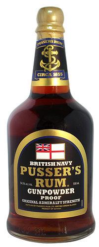 Pussers Gunpowder Proof Rum 700ml 54.5%