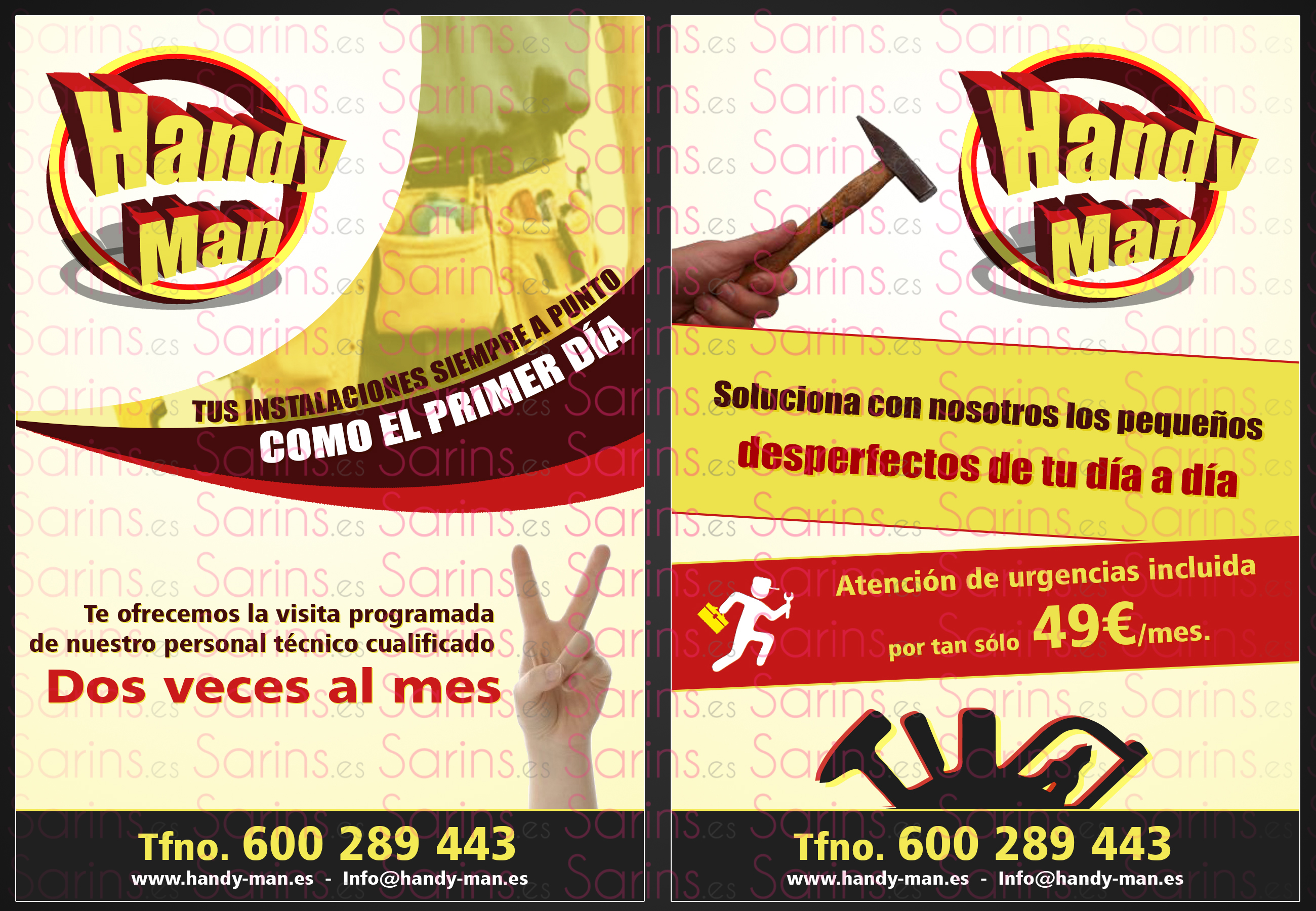 Flyer de Handy Man