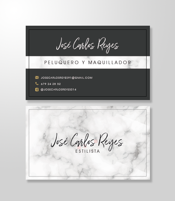 Tarjeta de visita Jose Carlos Reyes