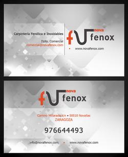 Tarjeta de visita Nova Fenox