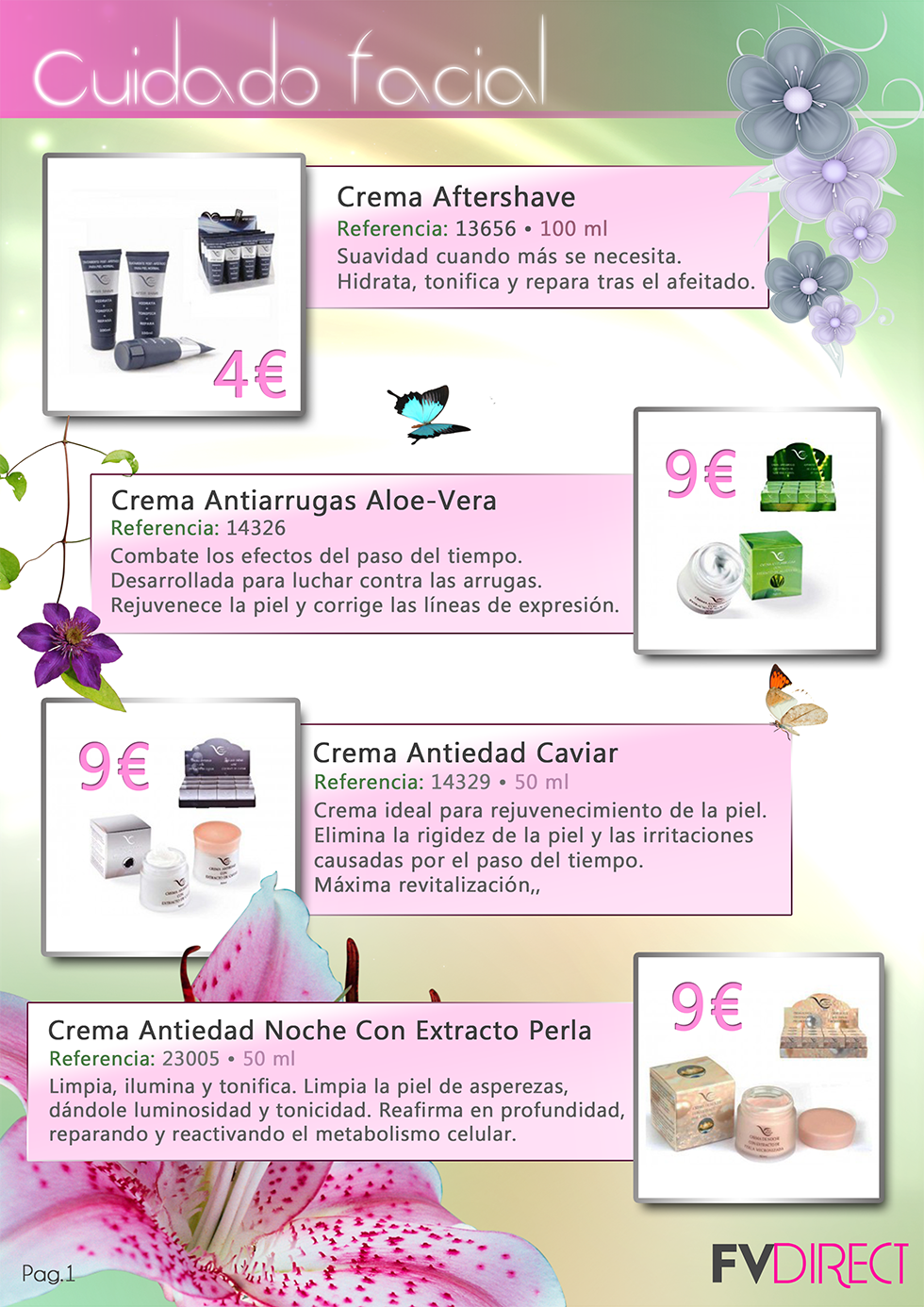 catalogo productos sarins rosa