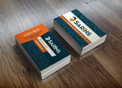 tarjetas de visita Sarins