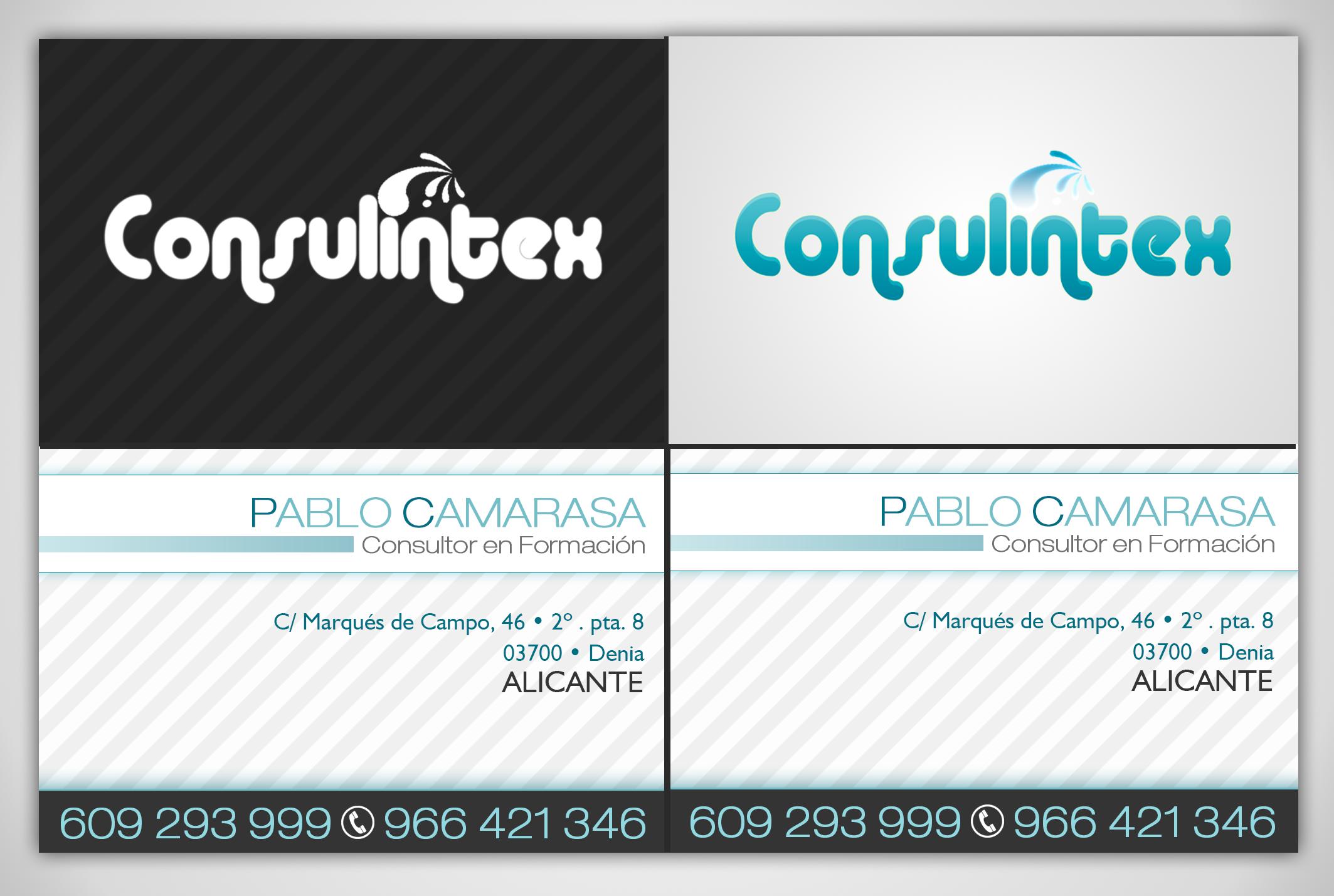 Tarjeta de visita Consulintex