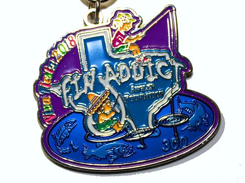 Fin Addict Angler 2018 Fiesta Medal