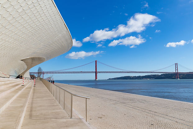 Facade of the new art technologies and architecture museum in Lisbon.jpg