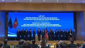 CCIPV's Chairman, Sergio Silva, attend the EVFTA Signing Ceremony, in Vietnam