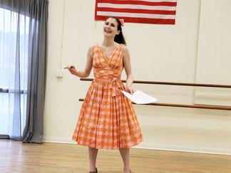 Rachel Singing at a workshop