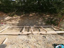 Erste Bauarbeiten