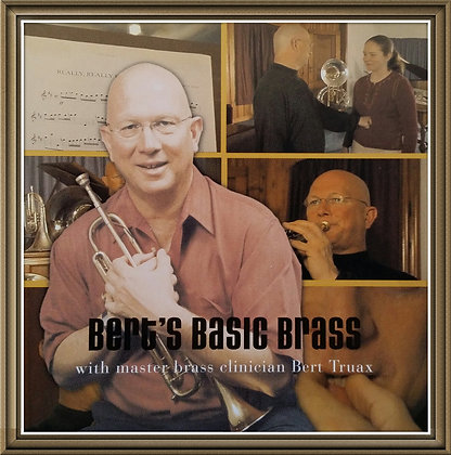 Bert's Basic Brass- DVD