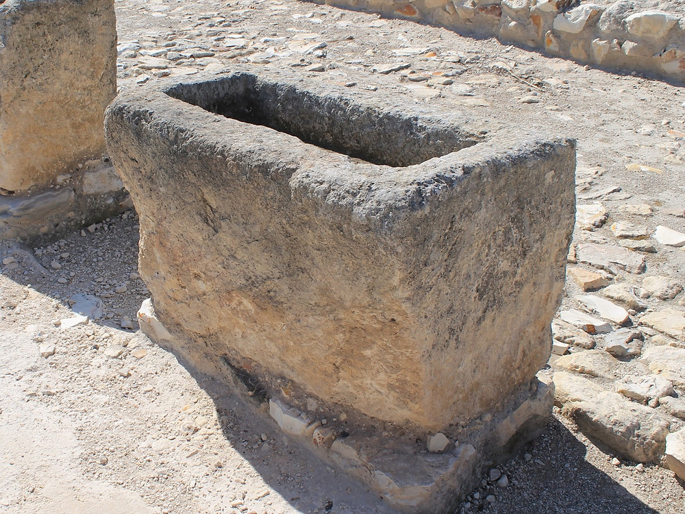 Image of stone trough