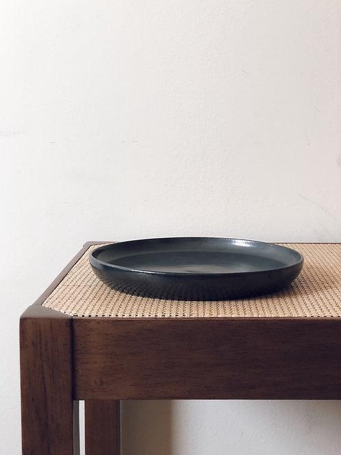 prato de sobremesa cerâmica | ônix