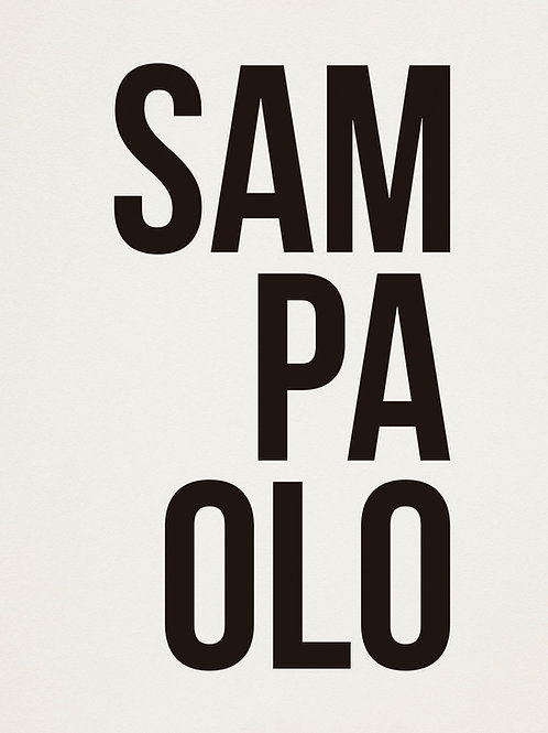 poster sampaolo • ouve