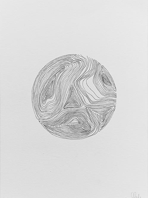 gravura linhas nº 1 • glauber sampaio | exposição orto