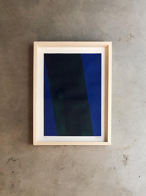 pintura faixas • glauber sampaio | com moldura