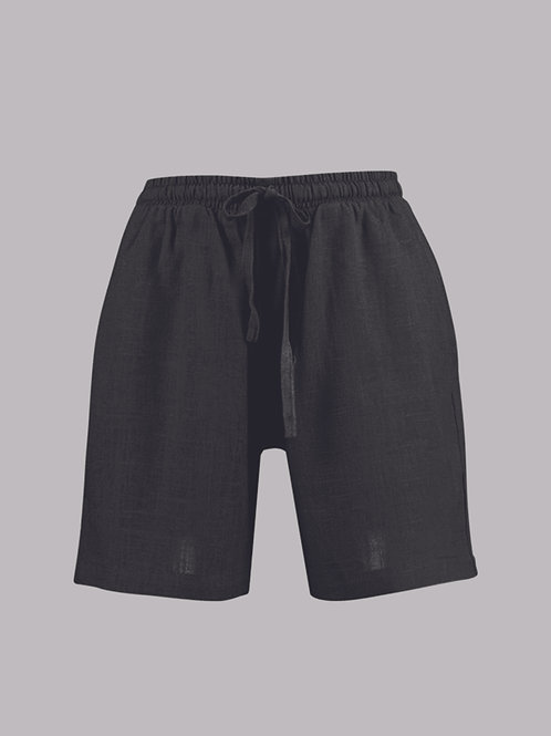 shorts unissex preto