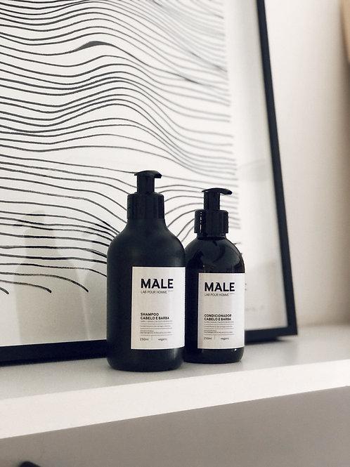 shampoo cabelo e barba