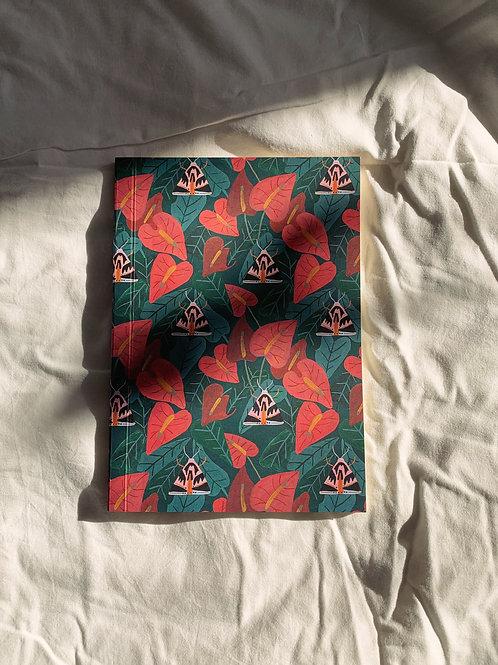 caderno wildness • estampa mariposa II