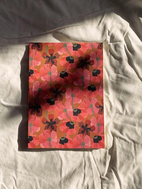caderno wildness • estampa flores II