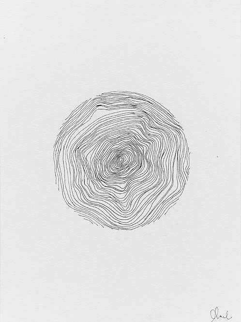 gravura linhas nº 3 • glauber sampaio | exposição orto