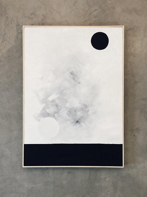 tela eclipse • raffaele asselta | com moldura