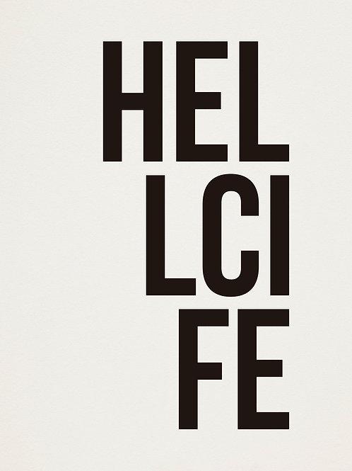 poster hellcife • ouve