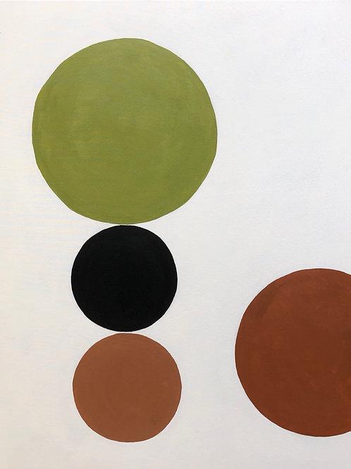 tela pintura pêndulo • raffaele asselta   sem moldura