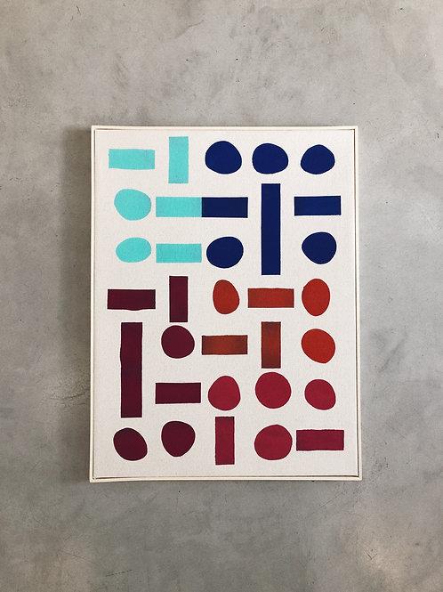 tela cores e barreiras • eduardo sancinetti | com moldura