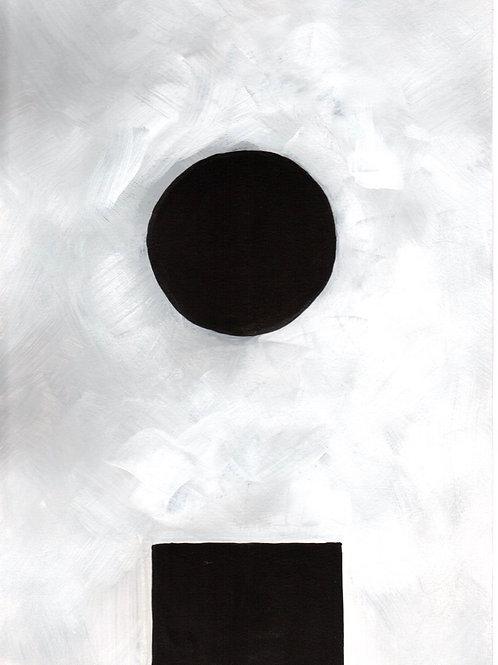 pintura nuvem 2 • raffaele asselta | com moldura