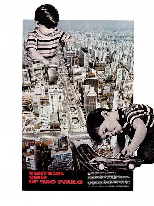 fine art colagem metropole I • guilherme figueiredo