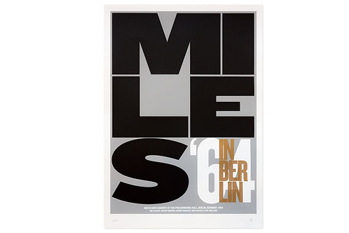 poster miles in berlin • gabriel saez
