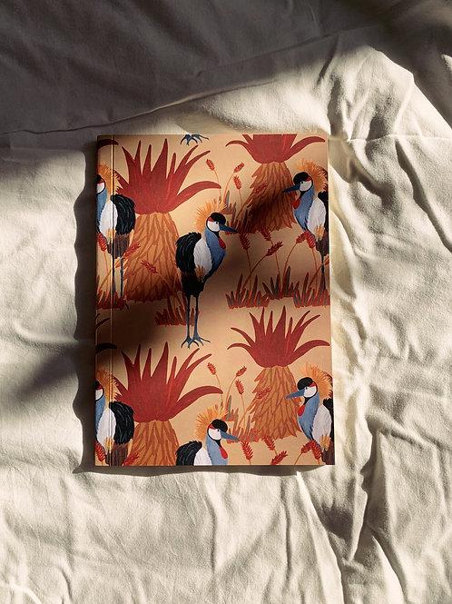caderno wildness • estampa pássaro I