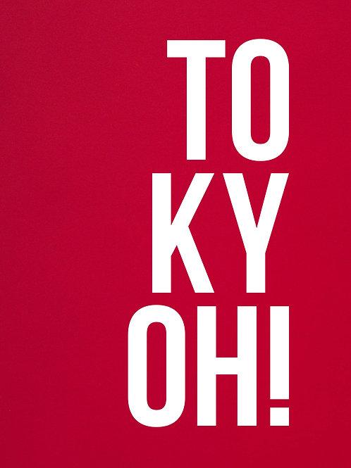 poster tokyoh • ouve