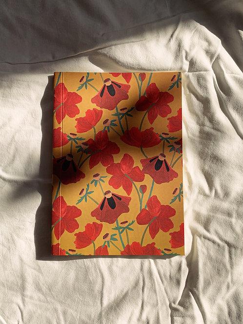 caderno wildness • estampa flores I