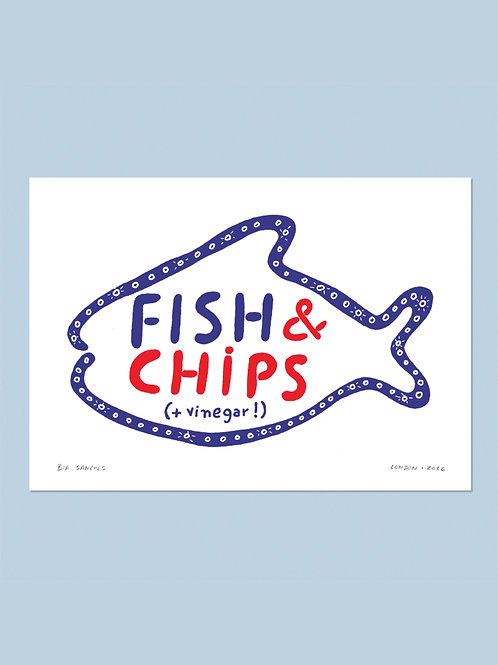 fish n chips • bia melo