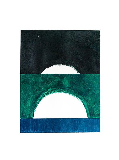pintura estudo geométrico Nº7 • glauber sampaio   exposição orto   sem moldura