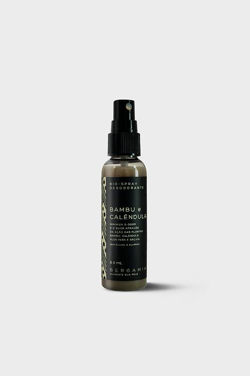 desodorante bio-spray de bambu e calêndula