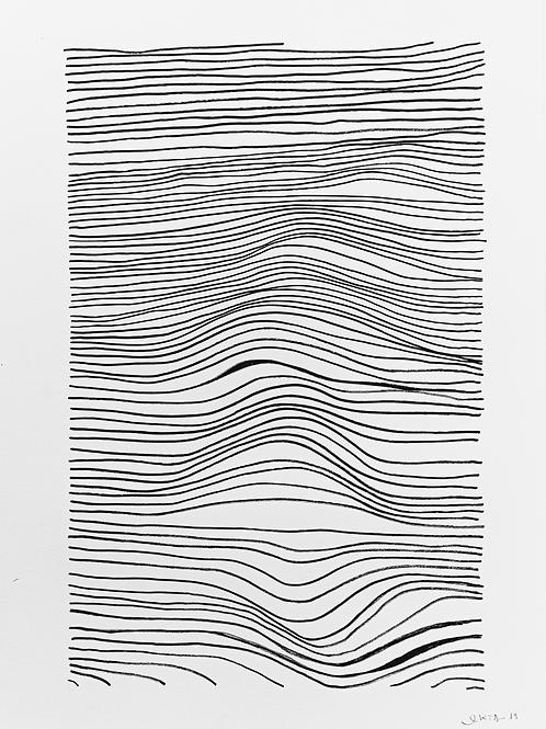 gravura linhas nº 15 • glauber sampaio   exposição orto