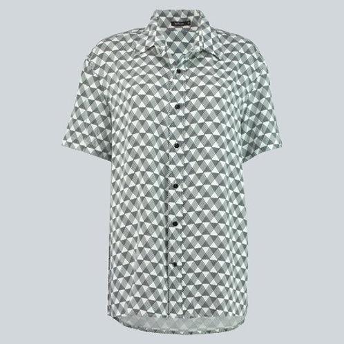 camisa zigzag branca