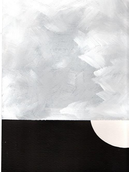 pintura nuvem 4 • raffaele asselta   com moldura