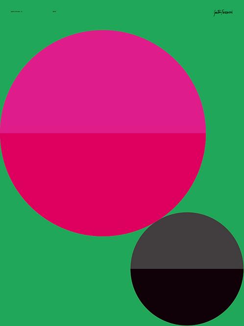 poster plano circular II • gustavo francesconi