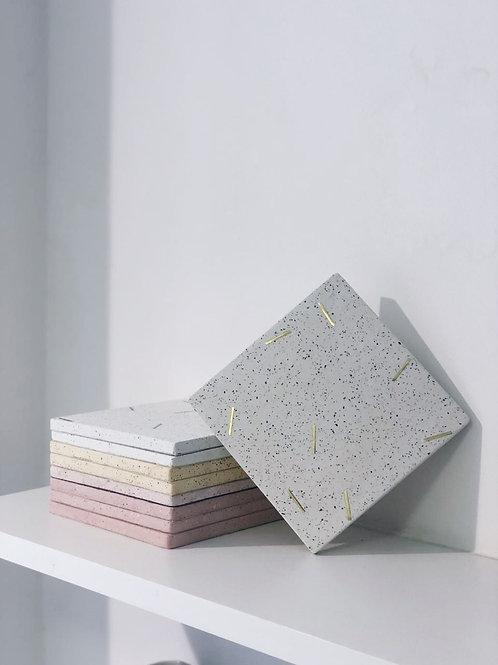 apoio quadrado granilite